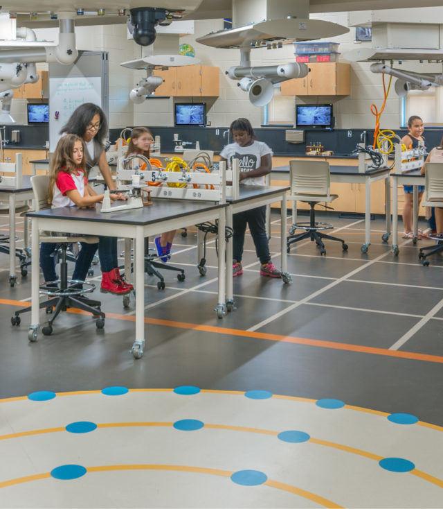 Designing STEM Spaces on a Tight Budget