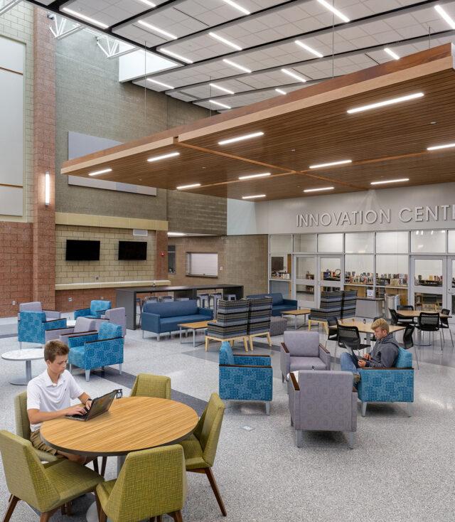 Fanning Howey Wins National Design Award for Columbia City High School