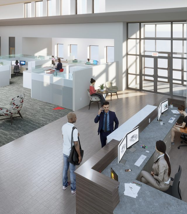 Fanning Howey Reveals Design for New Office in Downtown Celina